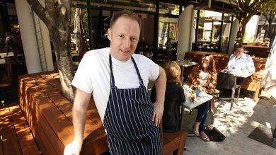 Chef PJ McMillan. Picture: Lyndon Mechielsen Source: The Australian