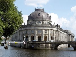 The Bode Museum is currently home to the Berlin's Old Masters sculpture collection. The city plans to use it as a temporary home for part of its collection, and to move from the Gemaeldegalerie to make way for 20th-century art. Photographer: Atelier Tesar/Staatliche Museen zu Berlin via Bloomberg